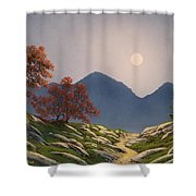By The Light Of The Moon Shower Curtain
