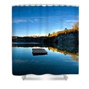 C E Landscape Shower Curtain