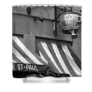 Cafe St. Paul - Montreal Shower Curtain