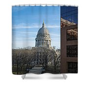 Capitol - Madison - Wisconsin Shower Curtain