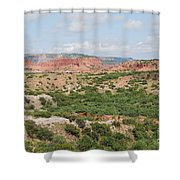 Caprock Canyon State Park  Shower Curtain