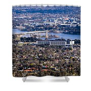 Carillon - Canberra - Australia Shower Curtain