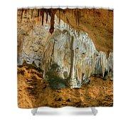 Carlsbad Caverns Shower Curtain