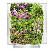 Castle Gardens Shower Curtain