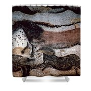 Cave Art Shower Curtain