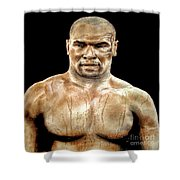 Champion Boxer And Actor Mike Tyson Shower Curtain