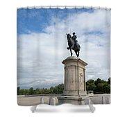 Chantilly Castle Garden In France Shower Curtain