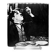 Chaplin: Gold Rush. 1925 Shower Curtain