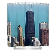 Chicago Il, Usa Shower Curtain