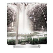 Christmas Time Season In Rock Hill South Carolina Shower Curtain