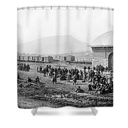 Civil War: Prisoners, 1864 Shower Curtain