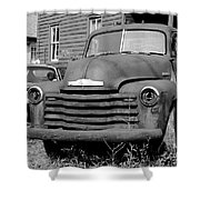 Old And Forgotten - Bw Shower Curtain