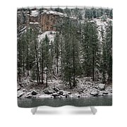 Clearwater River Shower Curtain