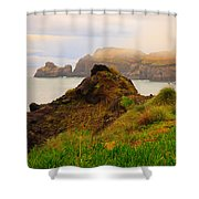 Coastal Landscape Shower Curtain