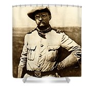Colonel Theodore Roosevelt Shower Curtain