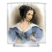 Countess Teresa Guiccioli Shower Curtain