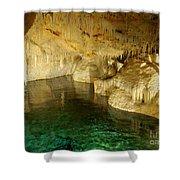 Crystal Cave In Hamilton Parish Bermuda Shower Curtain