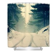 D J Landscape Shower Curtain
