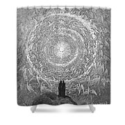 Dante: Paradise Shower Curtain by Granger
