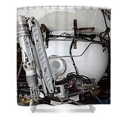 Deep Sea Submarine Shower Curtain