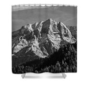 Dolomiti Landscape Shower Curtain