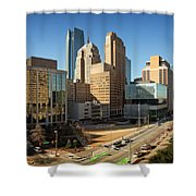 Downtown Okc Shower Curtain