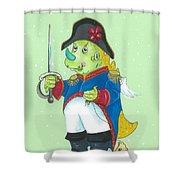 Drakonino Shower Curtain