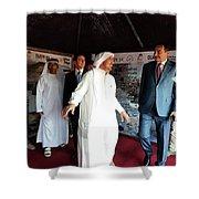 Dubai Travelers Festival Shower Curtain
