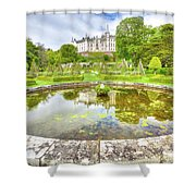 Dunrobin Castle Reflected Shower Curtain