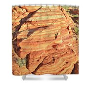 Early Morning In Valley Of Fire Shower Curtain