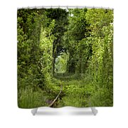 Famous Tunnel Of Love Location Shower Curtain