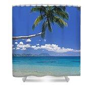 Fiji, Kadavu Island Shower Curtain