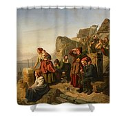 Fisher Families On The Coast Shower Curtain