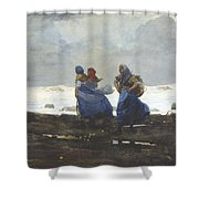 Fishwives  Shower Curtain
