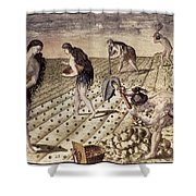 Florida Native Americans, 1591 Shower Curtain