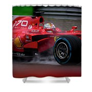 Formula 1 Monza 2017 Shower Curtain