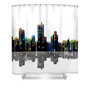 Fort Worth Texas  Skyline Shower Curtain