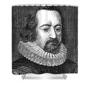 Francis Bacon, English Polymath Shower Curtain