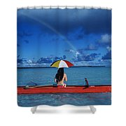 French Polynesia, Tetiaro Shower Curtain