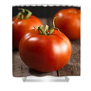 Fresh Tomatoes Shower Curtain