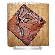 Friends - Tile Shower Curtain