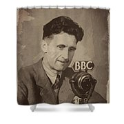 George Orwell 1 Shower Curtain