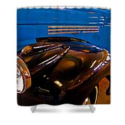 3 Georges Truck Shower Curtain