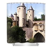 Germans Gate - Metz, France Shower Curtain
