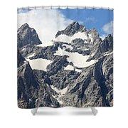Grand Tetons, Wyoming Shower Curtain