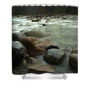 Granite And Water, Lynn Creek Shower Curtain
