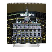 Helmsley Building Shower Curtain