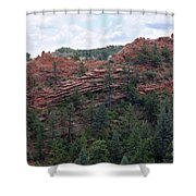 Hiking The Mesa Trail In Red Rocks Canyon Colorado Shower Curtain