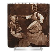 Hill And Adamson Shower Curtain