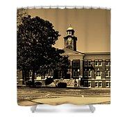Historic White Hall - Tuskegee University Shower Curtain